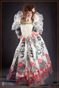 Trash fashion design 2