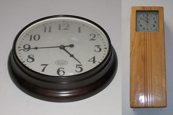 John Hay Elementary clocks