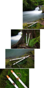 Doug Banner's Satori flutes