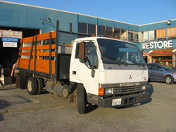 Fuso, the truck
