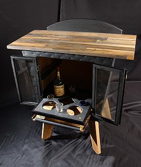 Build A Hidden Liquor Cabinet