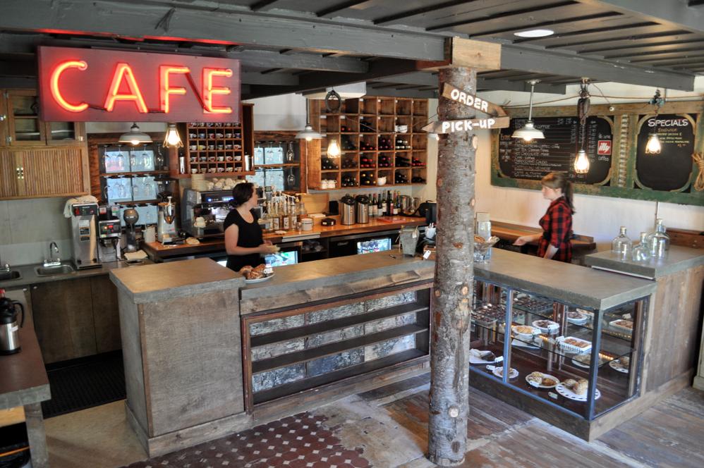 Keeping Spirit Of Historic Neighborhood Row House Caf