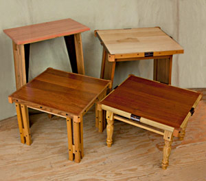 How to make small tables from recycled materials – Part 1:Table ...