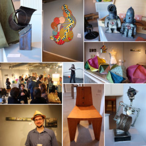 2012 Seattle Recycled Art Gallery Collage
