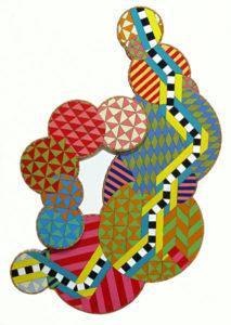Recycled Art piece - Jubilee by Julia Haack