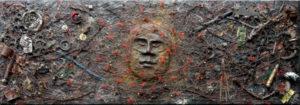 Recycled Art - A Glimmer of Hope by Kuros Zahedi