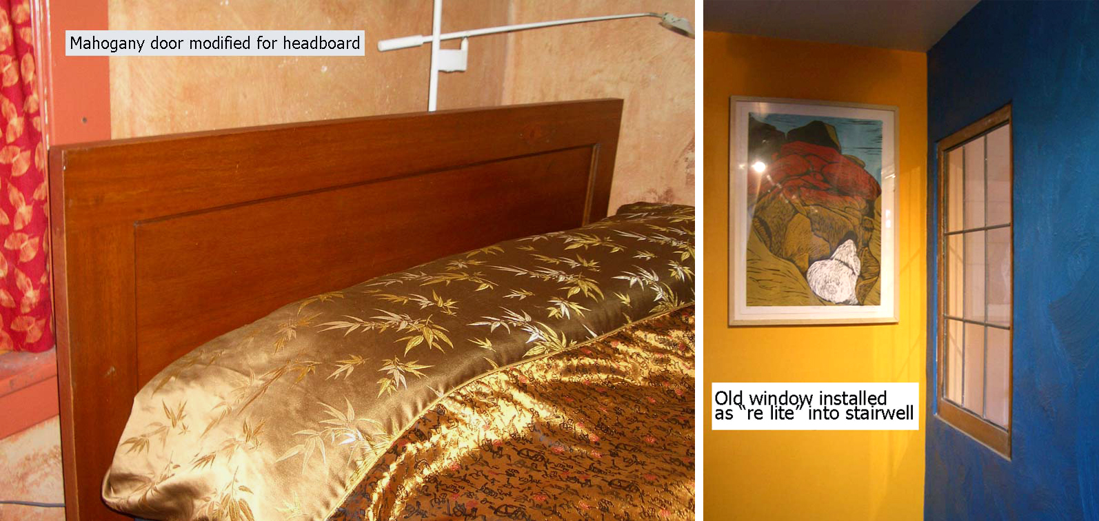 headboard and relite