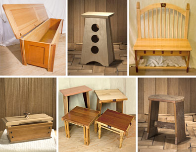 Furniture Made from Reclaimed Materials