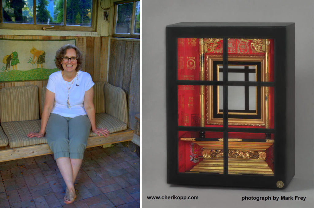 Artist Cheri Kopp and Shrine to Unfinished Projects