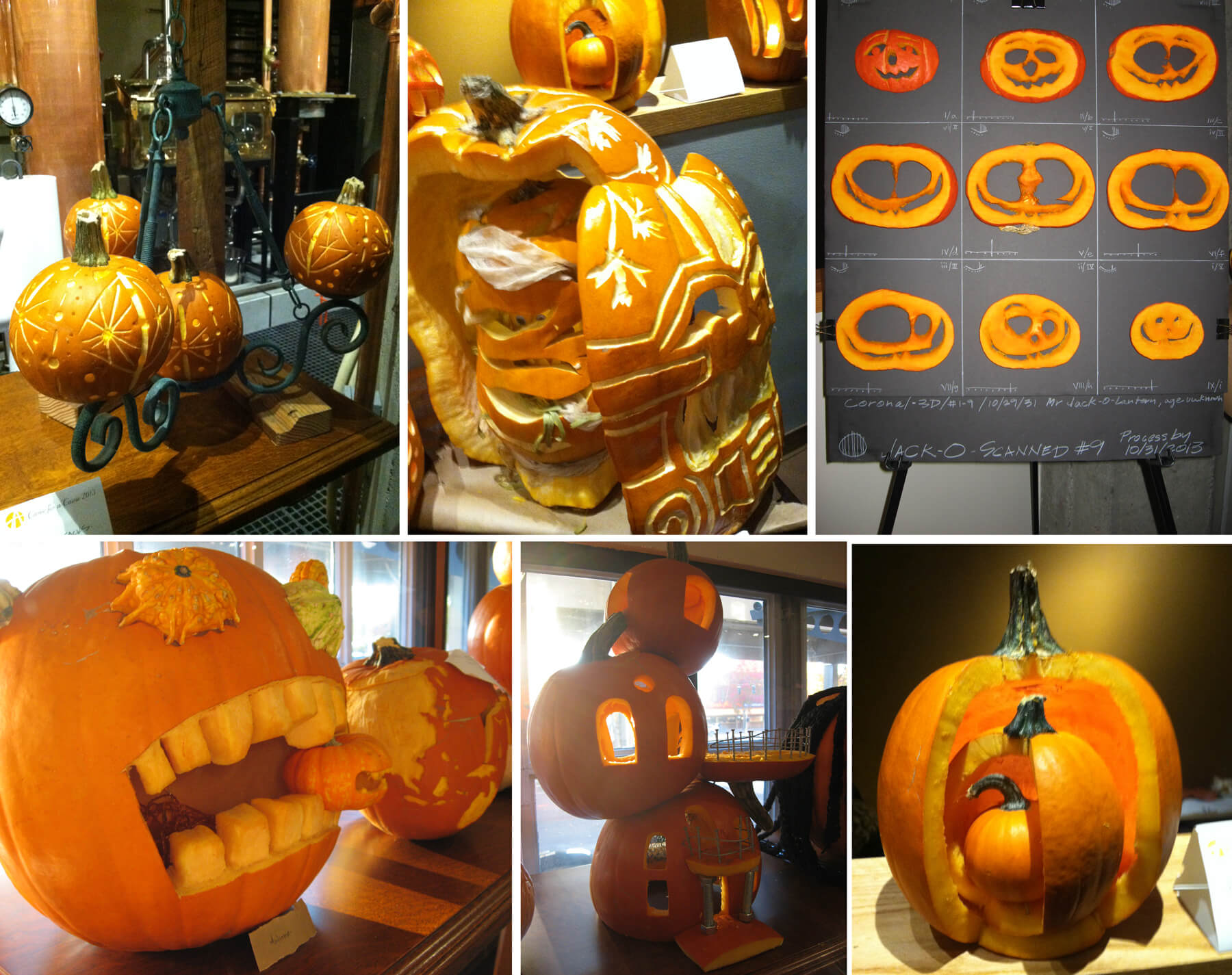 Carve for a Cause pumpkin carving contest