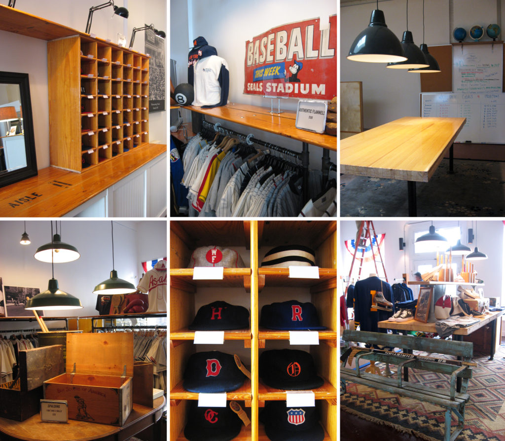 ebbets field salvage retail displays