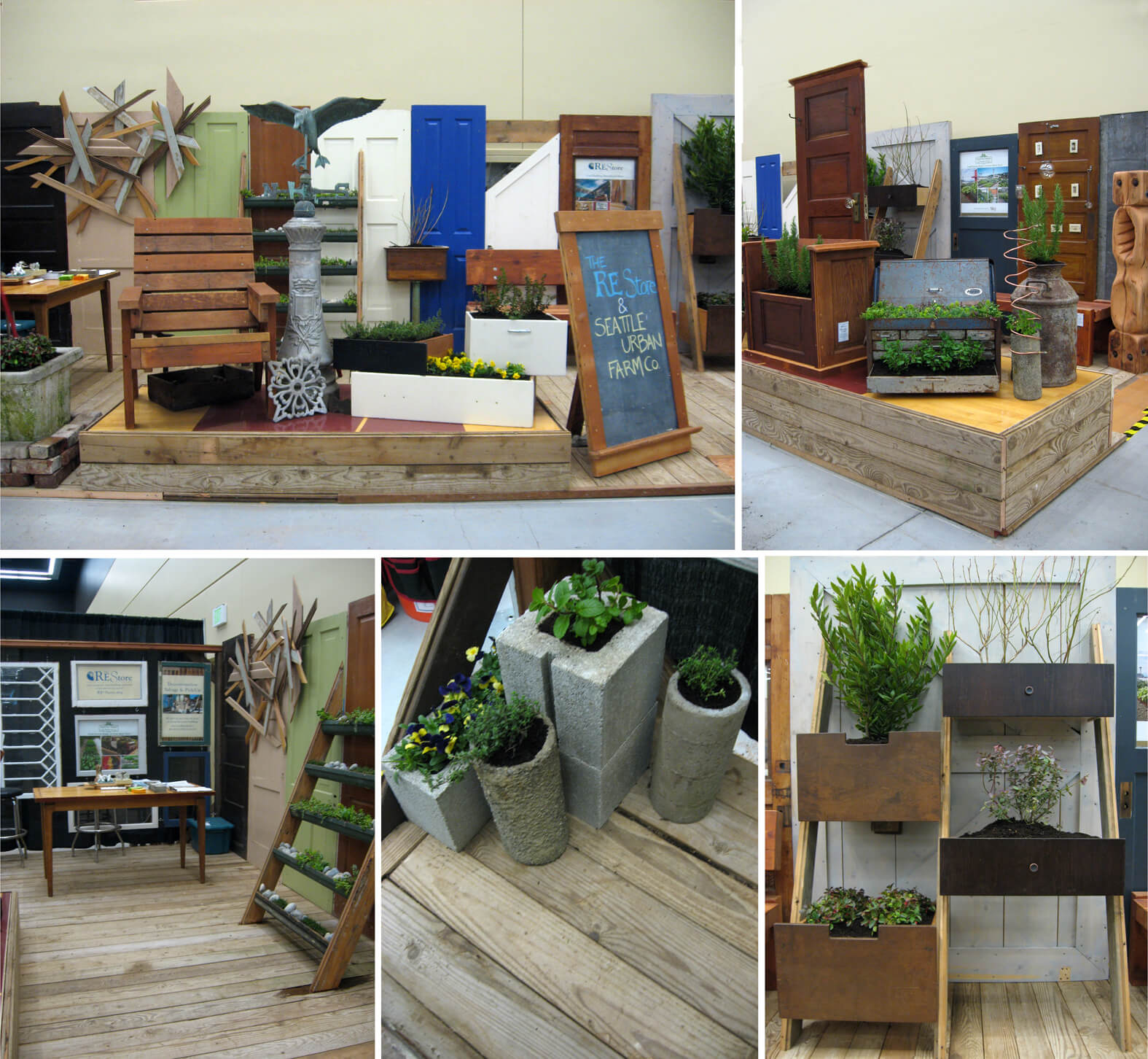 flower and garden show display 2014