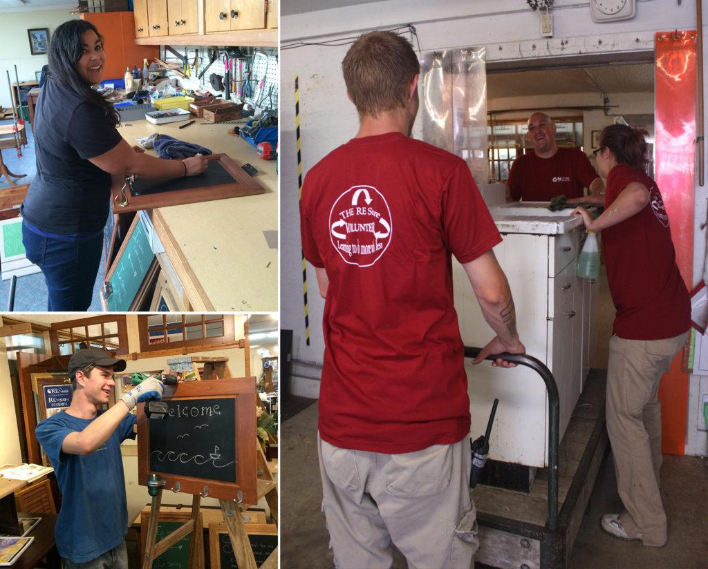 volunteers 2015 collage