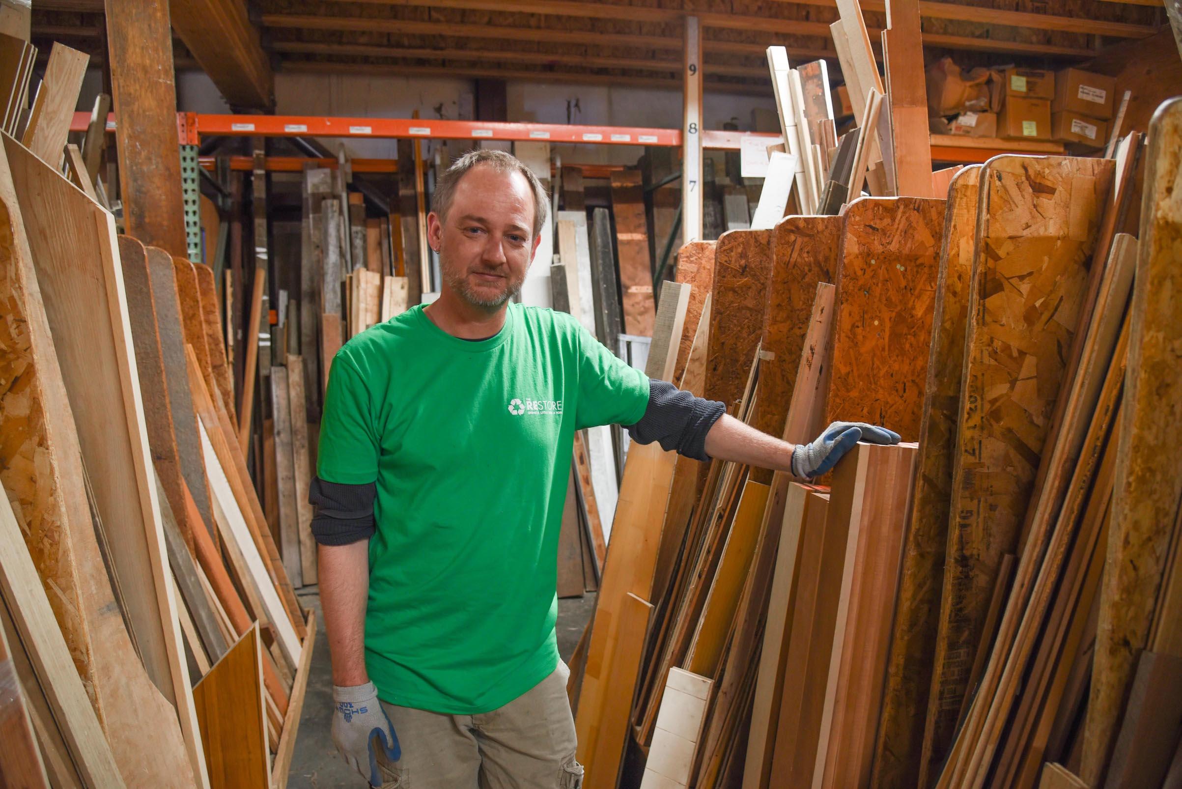 Geoff Jones new RE Store employee
