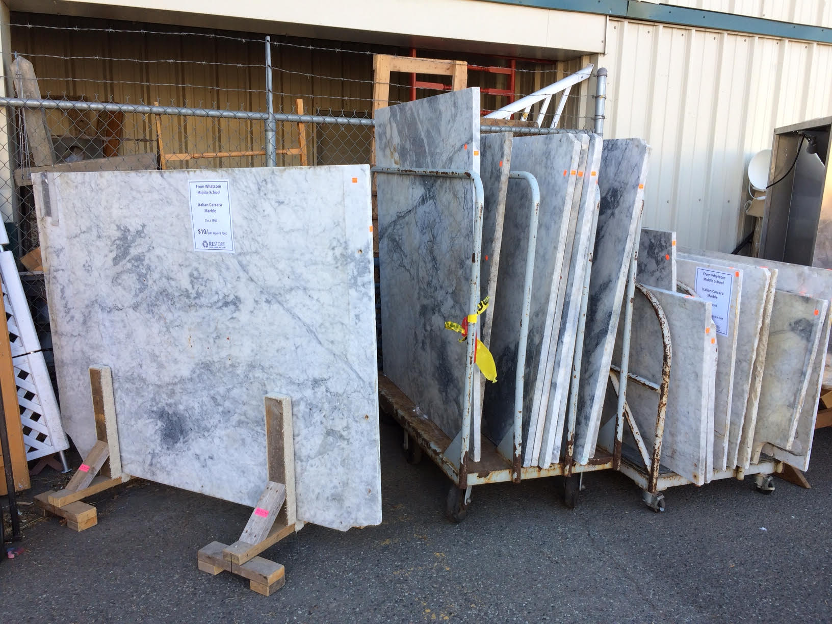 Italian Carrara Marble: A Salvage Story | The RE Store