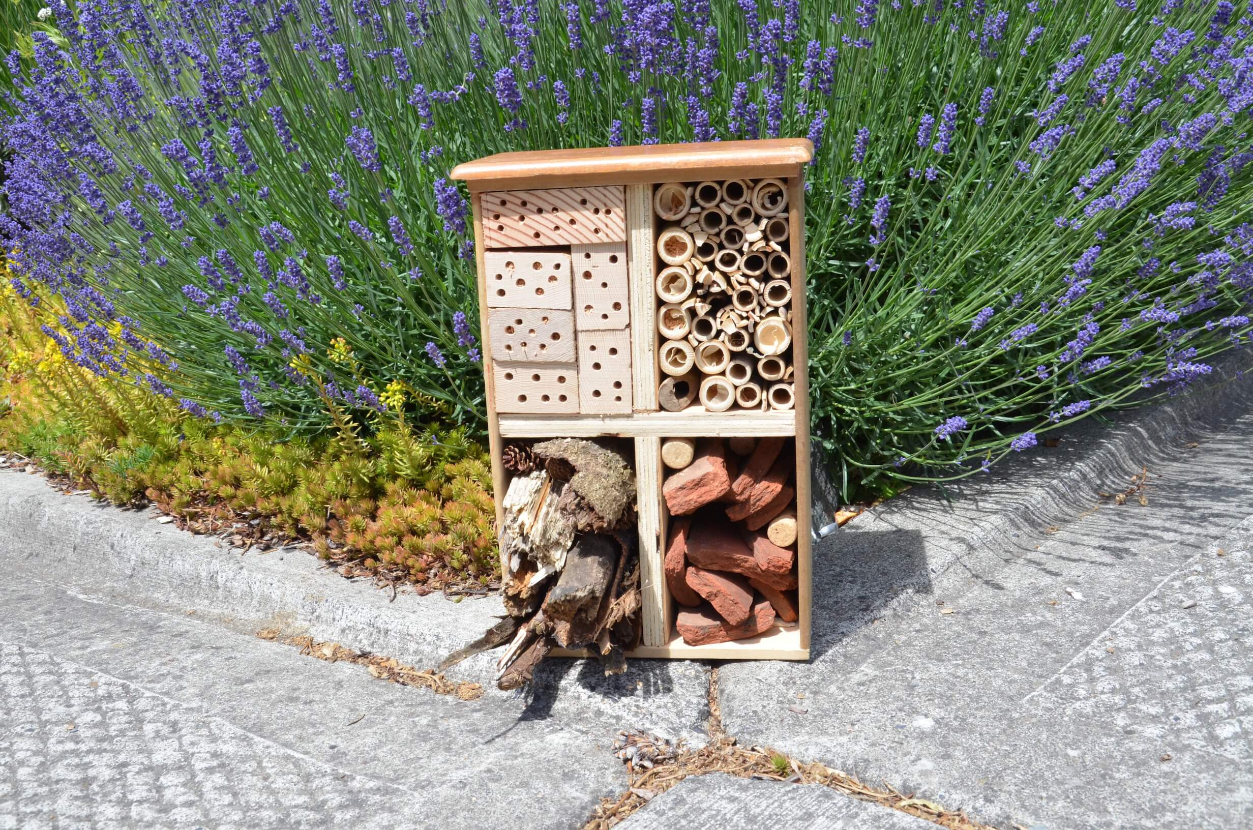 DIY Insect Hotel using Scrap materials