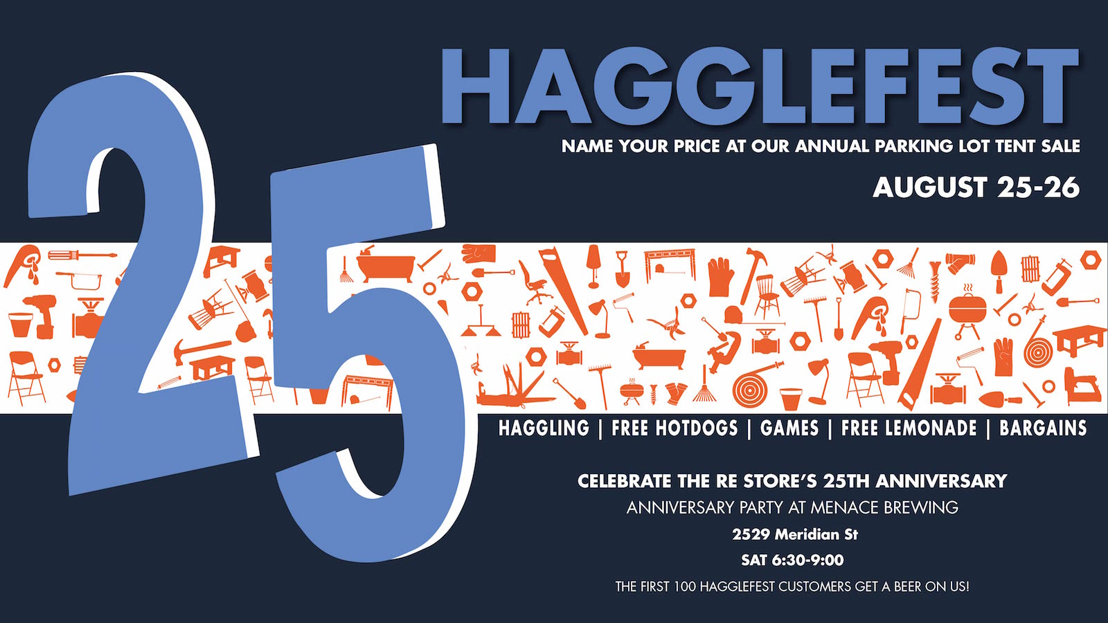2018 Hagglefest annual tent sale