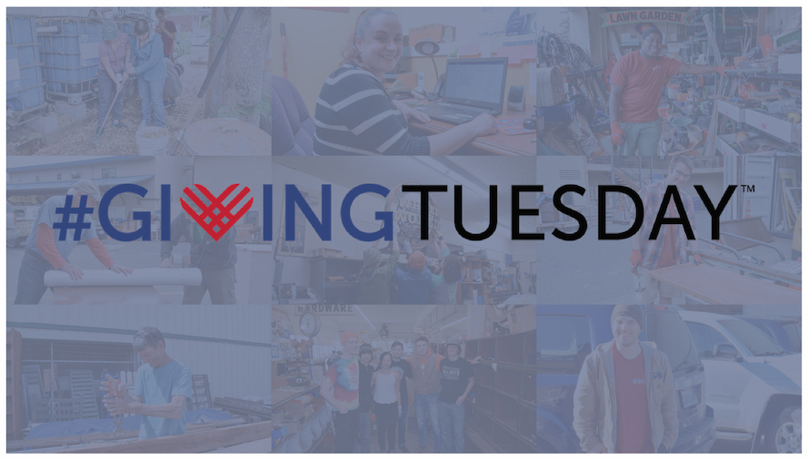 2018 The RE Store #GivingTuesday collage