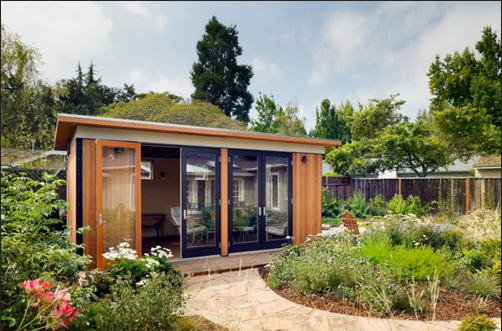 Backyard detached accessory dwelling unit (D - ADU)