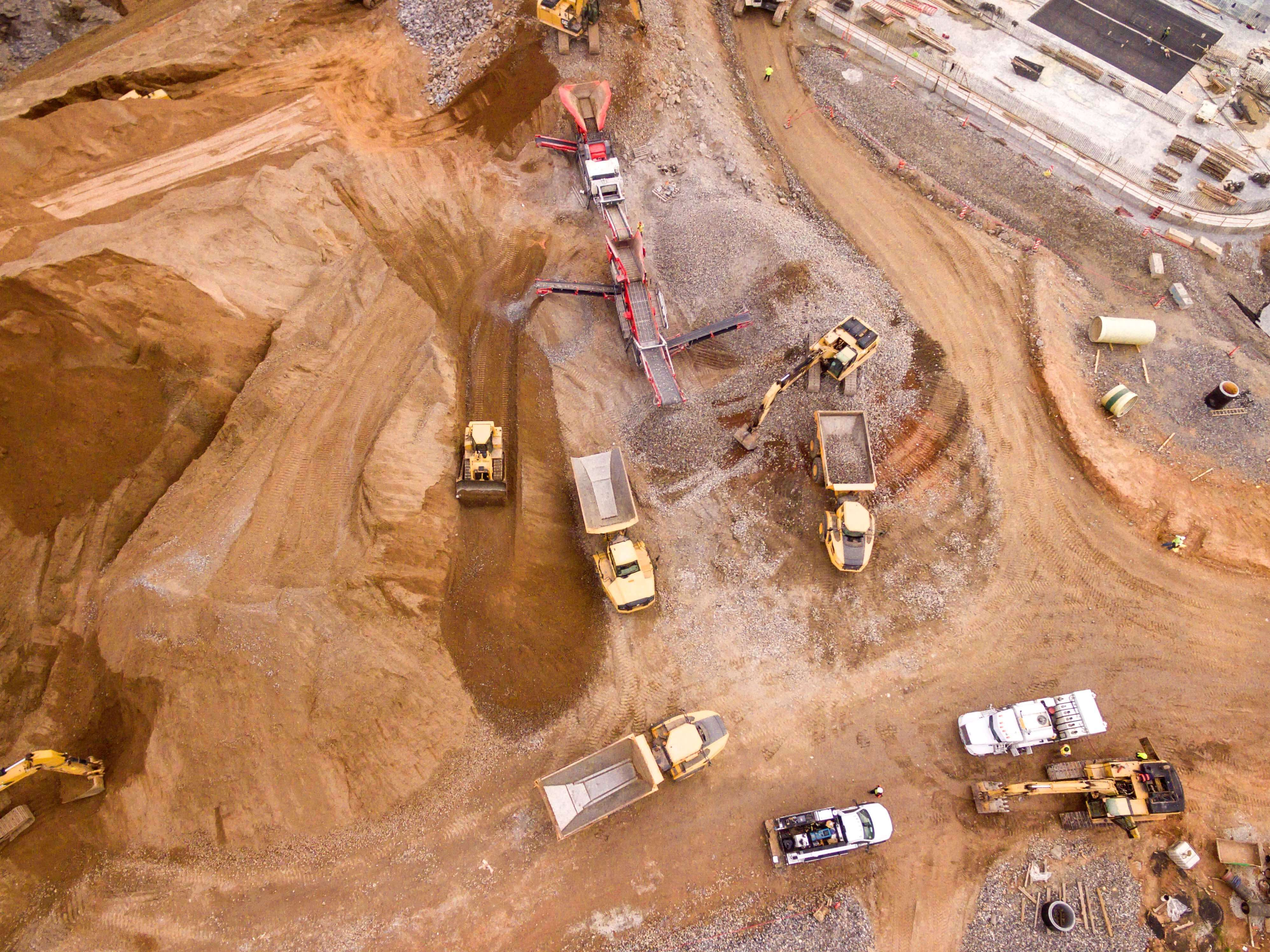 Sand mining crisis